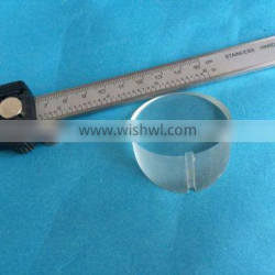 Optical glass wedge prism,BK7/K9,Fused silica,sapphire wedge prism