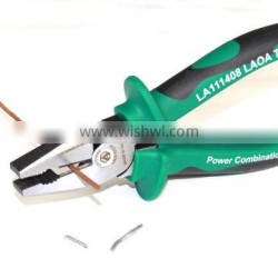 LAOA CR-Ni Steel Germany Type Quality Combination Pliers with Side Cutting