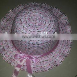 Welcome Wholesales high quality beautiful kids straw hat