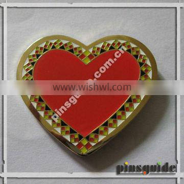 Factory Price Golden Plating Pins Badges For Dia Do Professor