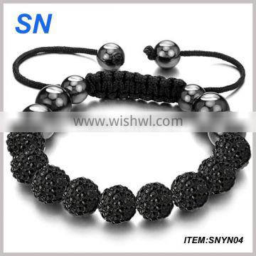 2014 fashion bracelet!Beautiful charm bead handmade bracelet