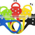 2014 new Snow crampons silicone shoe covers for outdoor sport
