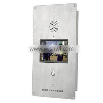 """Factory Price 7"""" Digital TFT-LCD SIP Intercom IP Video Door Phone Knzd-60 with Steady Quality"""