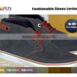 QILI 2015 Synthetic leather for lady long leather boots