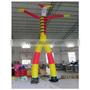 TWO leg inflatable air dancer for event party mini inflatable air dancers