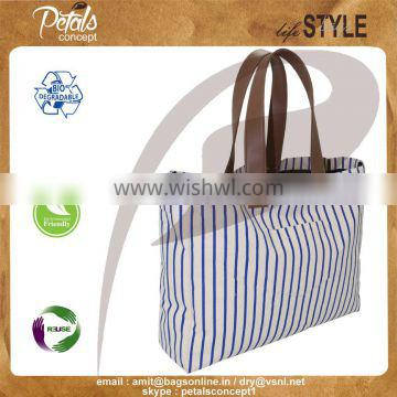 Wholesale canvas cosmetic bag