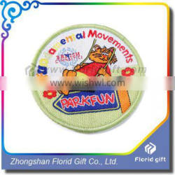 Wholesale Custom Machine Embroidery Badge Woven Patch
