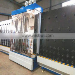 Vertical automatic insulating glass washing and drying machine