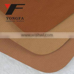 ANGLE HOLE embossed PU leather PU synthetic leather PU leather fabric for shoes lining