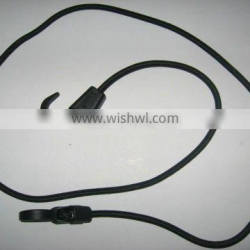 Latex Bungee Cord with Plastic Hooks