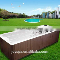 Cheap prices swimspa fiberglass swimming pool JY8601above ground swimming pool