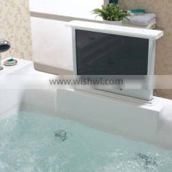 one piece massage air LED bathtub for one person dimensions 1900 long
