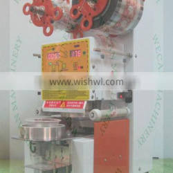 WCS-F99-AAA fully automatic plastic cup sealing machine for bubble tea /juice /candy floss