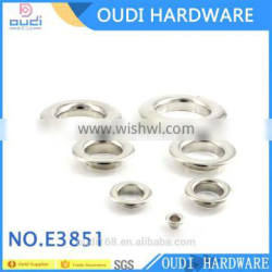 2016 best quality best price of metal eyelets for shoes for leather /metal eyelets for curtains