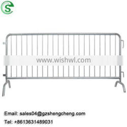 Steel french barricade for road work construction