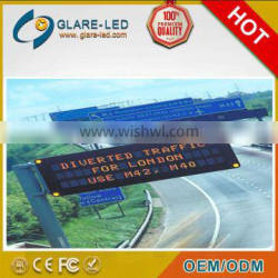 P31.25 Gantry Mounted LED Variable Message Sign with CE ,RoHS