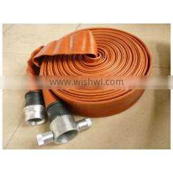 high pressure resistance fire fighting hose with John Morris Coupling