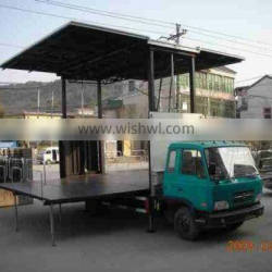 stage length 5m Mobile Arena Truck for Show