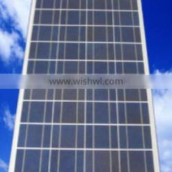 100W poly solar roof panel