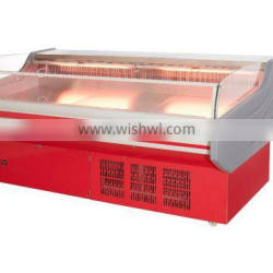 Made in China high quality open type pork beef chicken chiller refrigerator with CE certificate