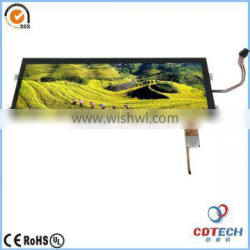 High Quality 12.3 inch cheap lcd touch monitor interactive multitouch panel