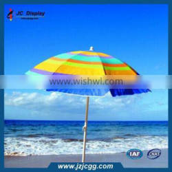 Large Offset Umbrella Sun Protection Outdoor Cool Shade Steel Bases for Umbrellas