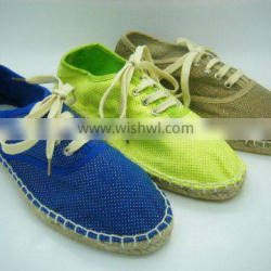 2016 New Spring Espadrilles For Women Slip on Jute Flats Shoes Ladies Summer Causal Shoes