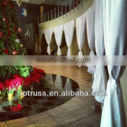 2015 RP latest aluminum pipe and drape Pipe And Drape System For Event And Wedding