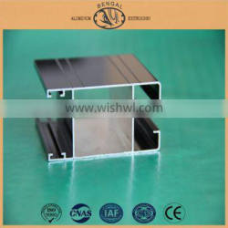 Commercial Aluminum Frame for Glass Doors, China Gold Supplier