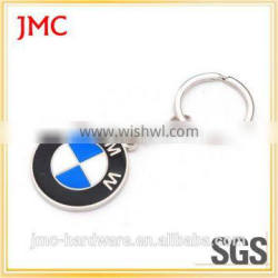 Metal Material and car racing keychain