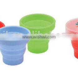 Outdoor Plastic Folding Cup