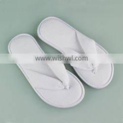 Disposable Terry Towelling Cloth Flip flop with EVA sole