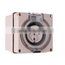 Three Phase 5 Round Pin Socket 32A (Resistive Orange)
