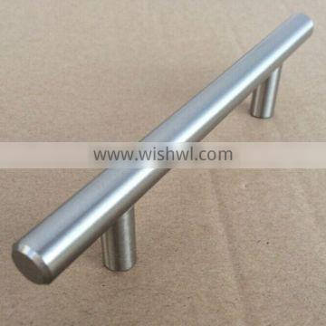 Cheapest price solid stainless steel furniture cabinet kitchen cabinet t bar handle