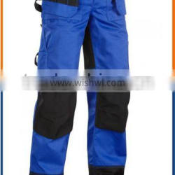 HOT SALE!!! workwear pant, workers overall uniforms security workwear men's fireproof pants with pockets on the sides