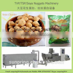 China Textured Soybean protein food processing line