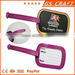 Newest product Factory price blank luggage tag