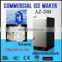 AZ 20B ( 20kg/day) Outdoor Stainless Steel Cube Ice Maker ice machine