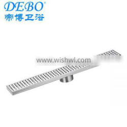 Customised stainless steel swimming pool gutter drain from China