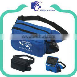 Wholesale blue fanny packs with water bottle holder