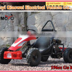 CE QWMOTO Chinese Wholesale Hot Selling 4 wheeler Buggy 196cc Racing Car 196cc Gas Go Kart