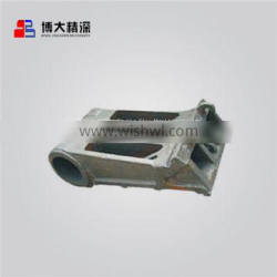 cone crusher parts lower frame apply to Metso GP300 crusher