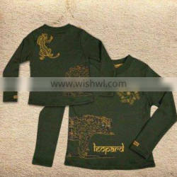 Organic Cotton Kids wear-Design: Leopard Tee