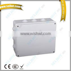Factory direct sale ABS/PC waterproof outdoor busbar electrical junction box board 300*250*120