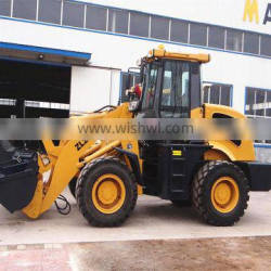 small wheel loader ZL20 with CE, log clamp, air conditioner