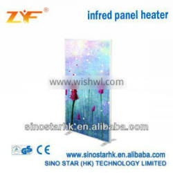 carbon crystal wall mounted bathroom electric heater