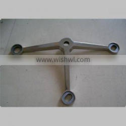 OEM stainless steel triangle bracket precision casting