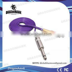 Top Quality Purple Tattoo Clip Cord for Tattoo Machine Power Supply