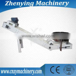 belt food transfer with side wall with side wall belt