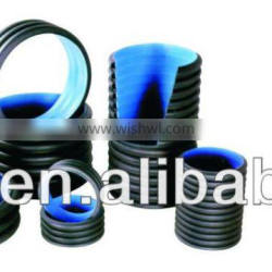 200mm ~1200mm HDPE Double Wall Corrugated Pipes for Drainage